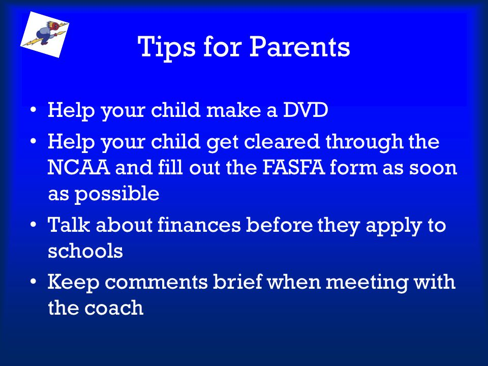 Tips for Parents Help your child make a DVD