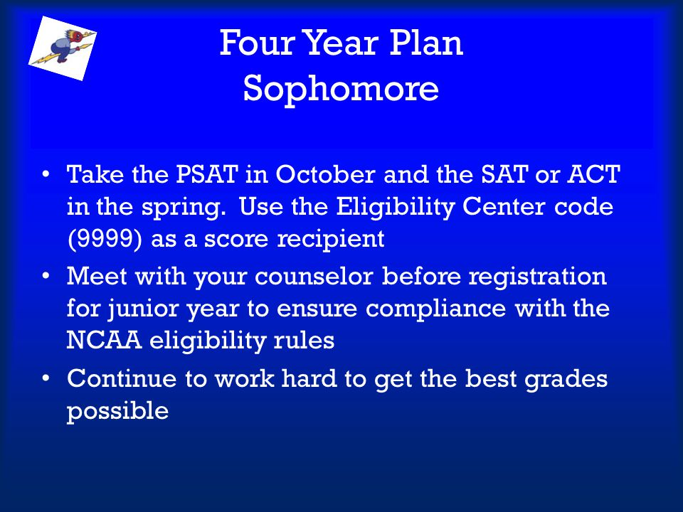 Four Year Plan Sophomore
