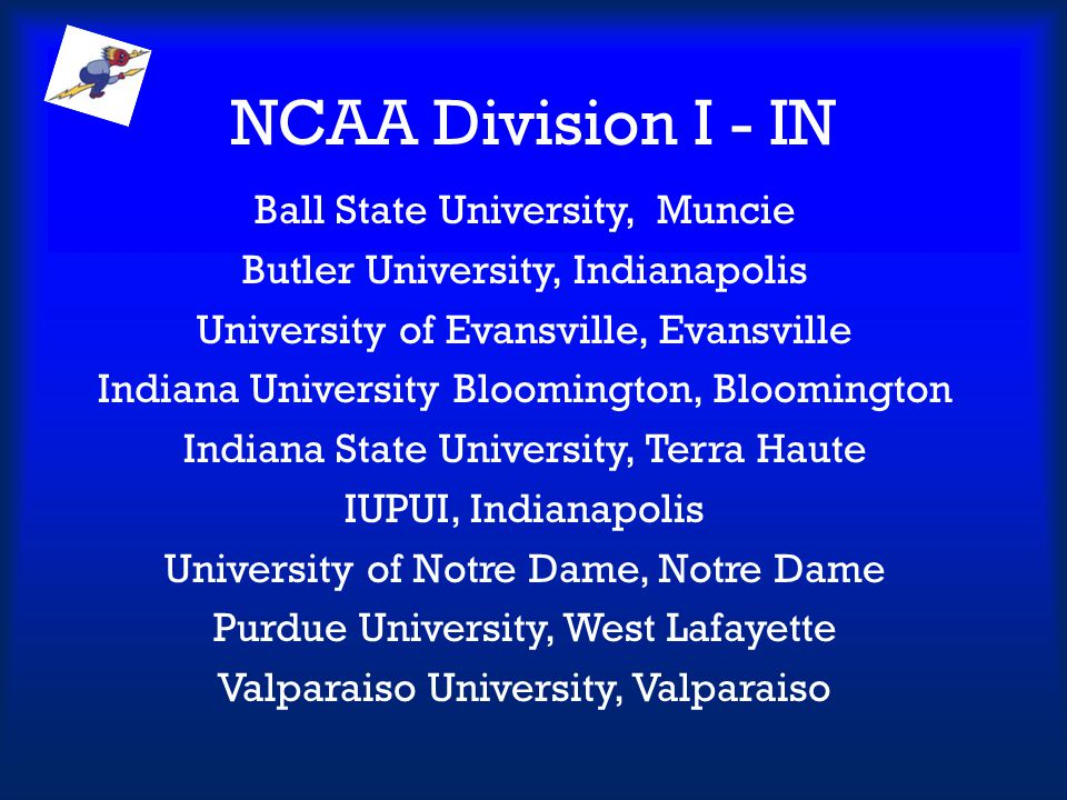 NCAA Division I - IN