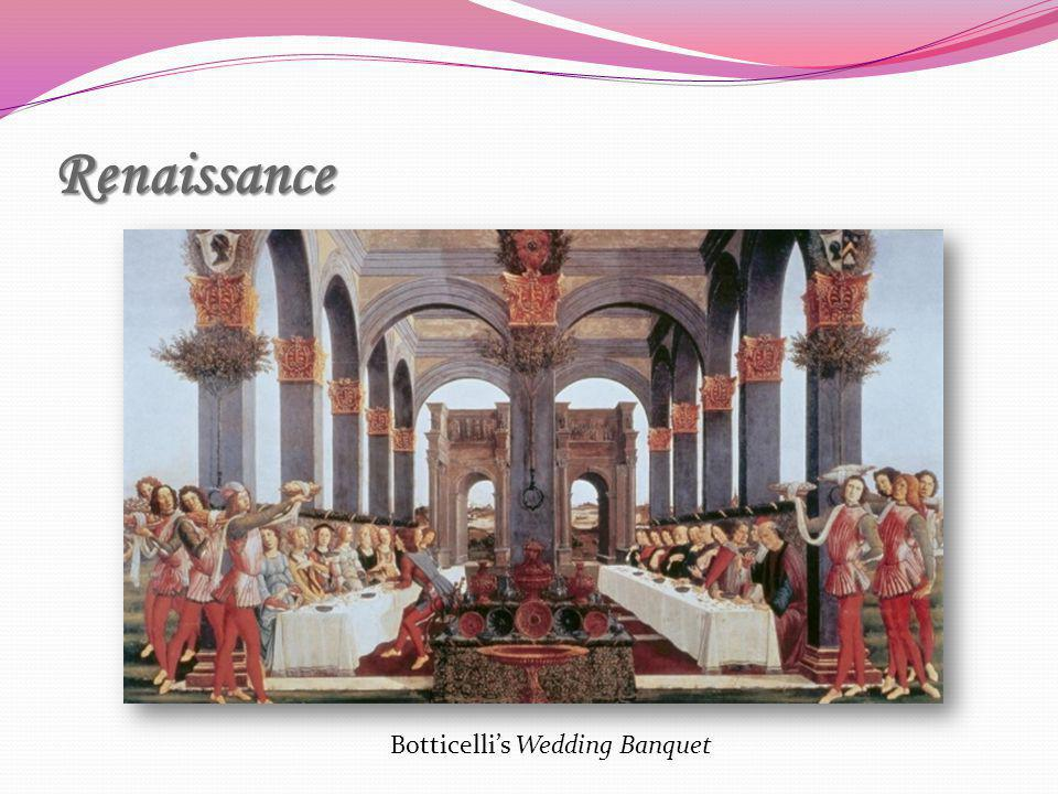 Botticelli's Wedding Banquet