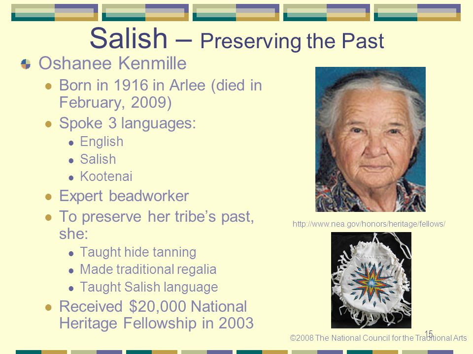 Salish – Preserving the Past