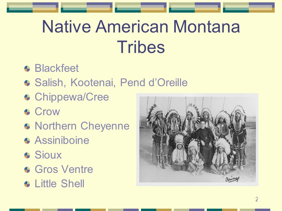 Native American Montana Tribes
