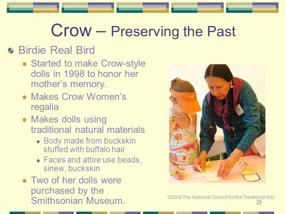 Crow – Preserving the Past