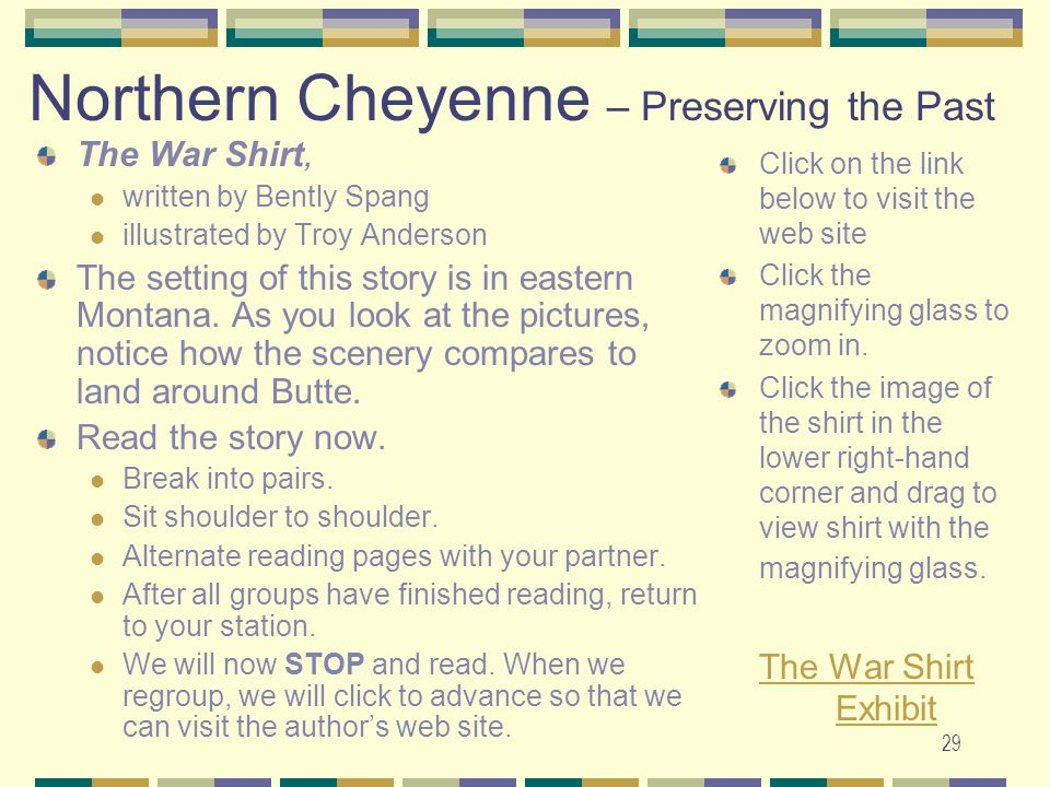 Northern Cheyenne – Preserving the Past