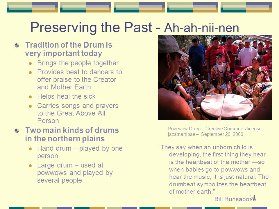 Preserving the Past - Ah-ah-nii-nen