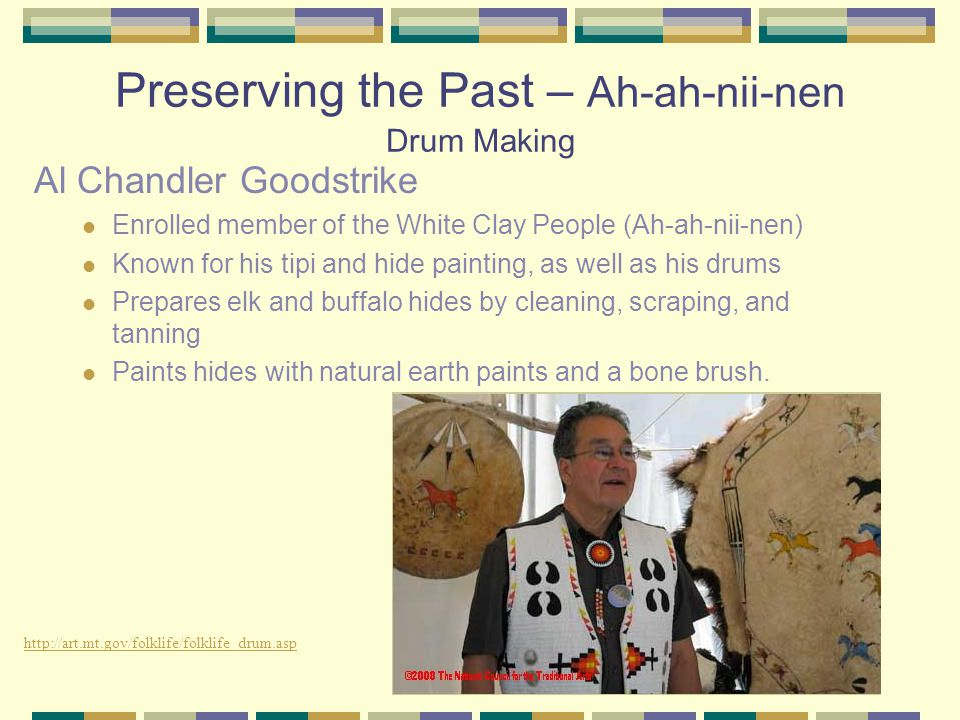 Preserving the Past – Ah-ah-nii-nen Drum Making