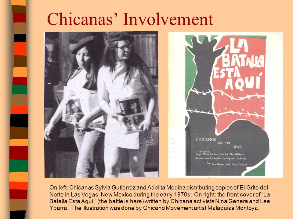 Chicanas' Involvement