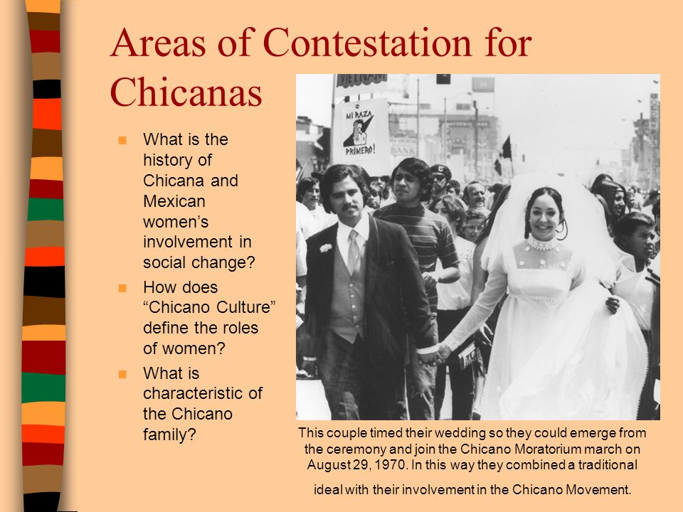Areas of Contestation for Chicanas