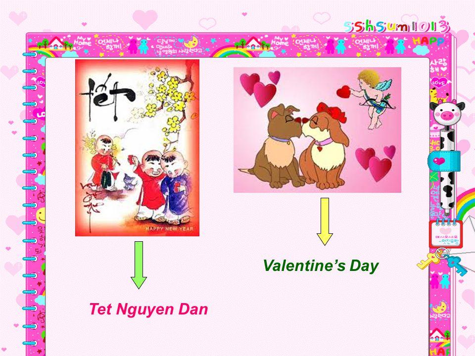 Valentine's Day Tet Nguyen Dan