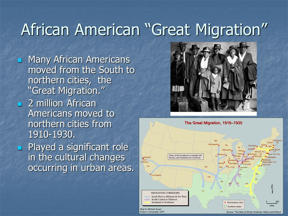 African American Great Migration