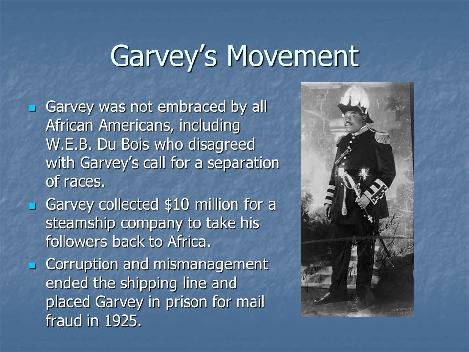 Garvey's Movement