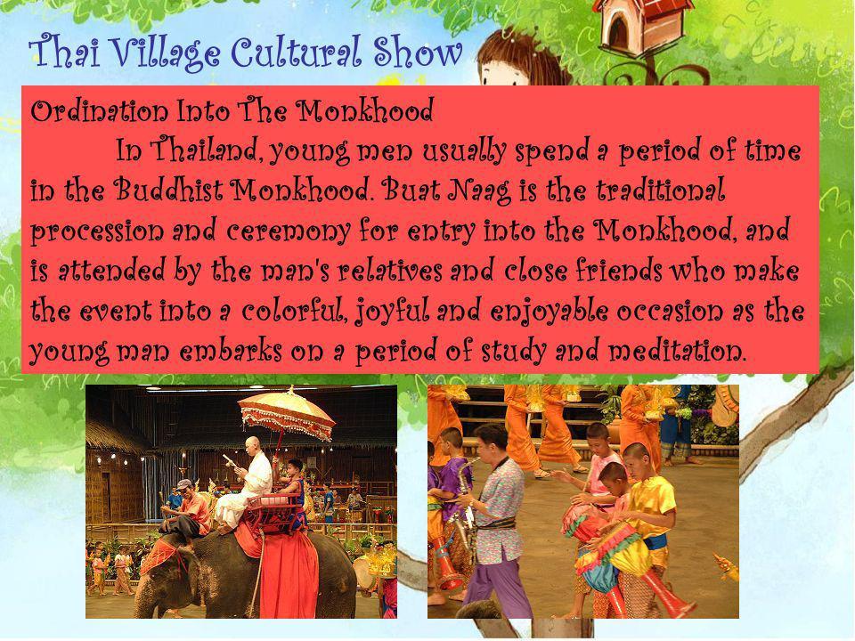 Thai Village Cultural Show