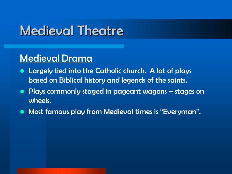 Medieval Theatre Medieval Drama