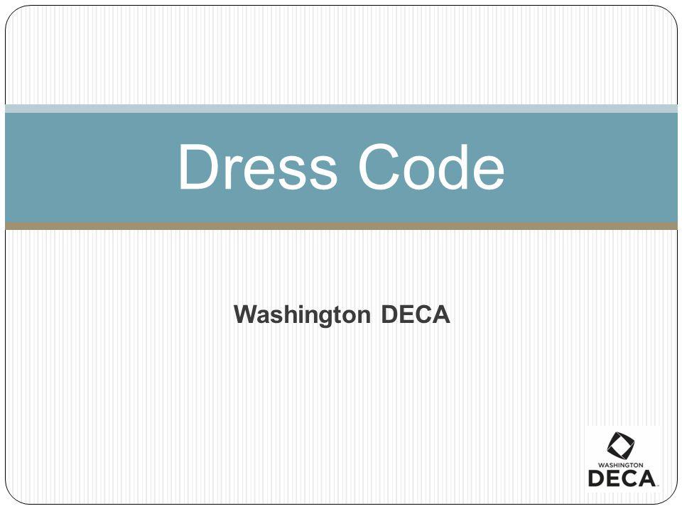 Dress Code Washington DECA
