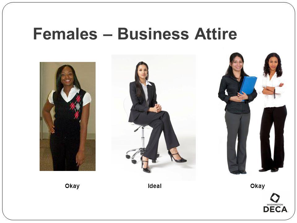 Females – Business Attire