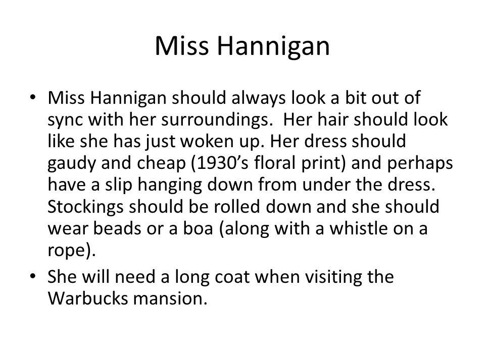 Miss Hannigan