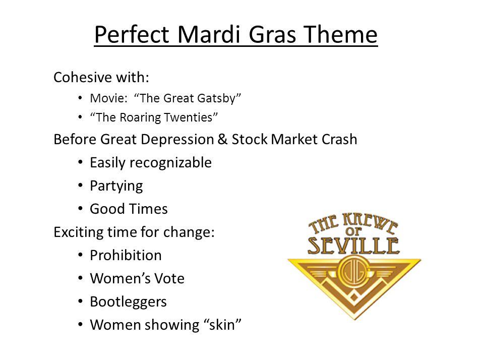 Perfect Mardi Gras Theme