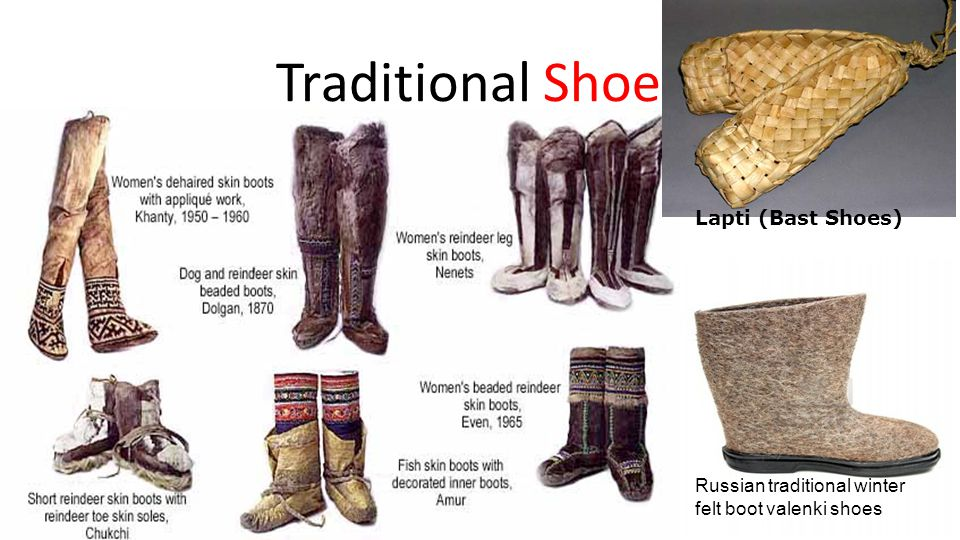Traditional Shoes Lapti (Bast Shoes)