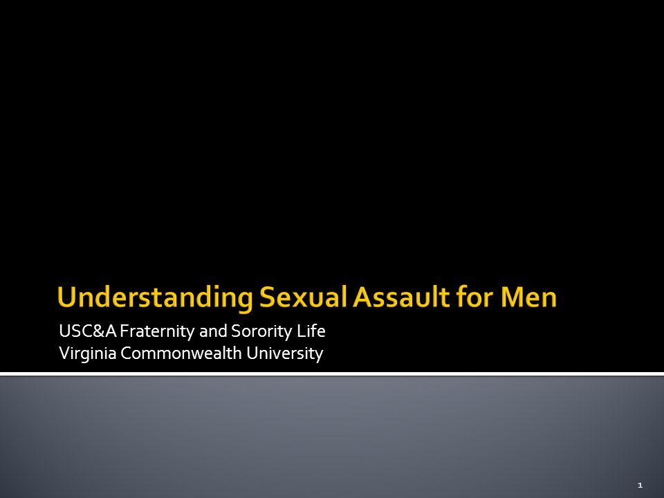Understanding Sexual Assault for Men