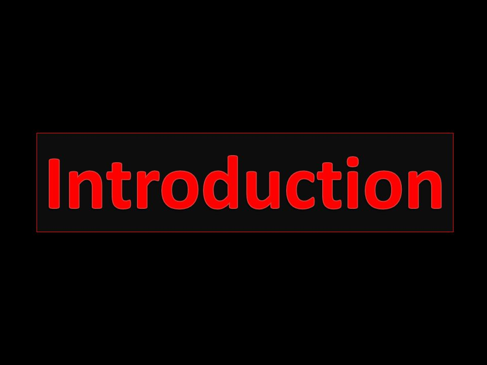 Introduction Introduction