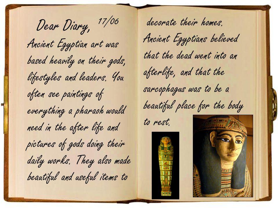 Dear Diary, 17/06.