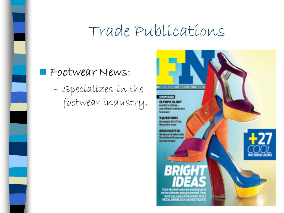Trade Publications Footwear News: