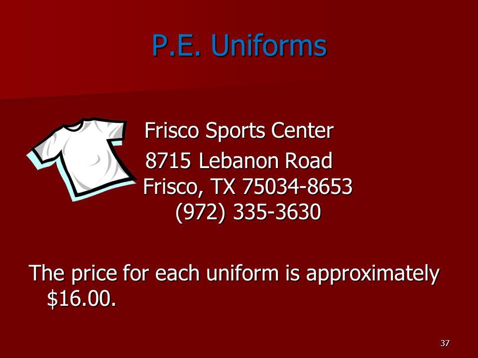 8715 Lebanon Road Frisco, TX 75034-8653 (972) 335-3630