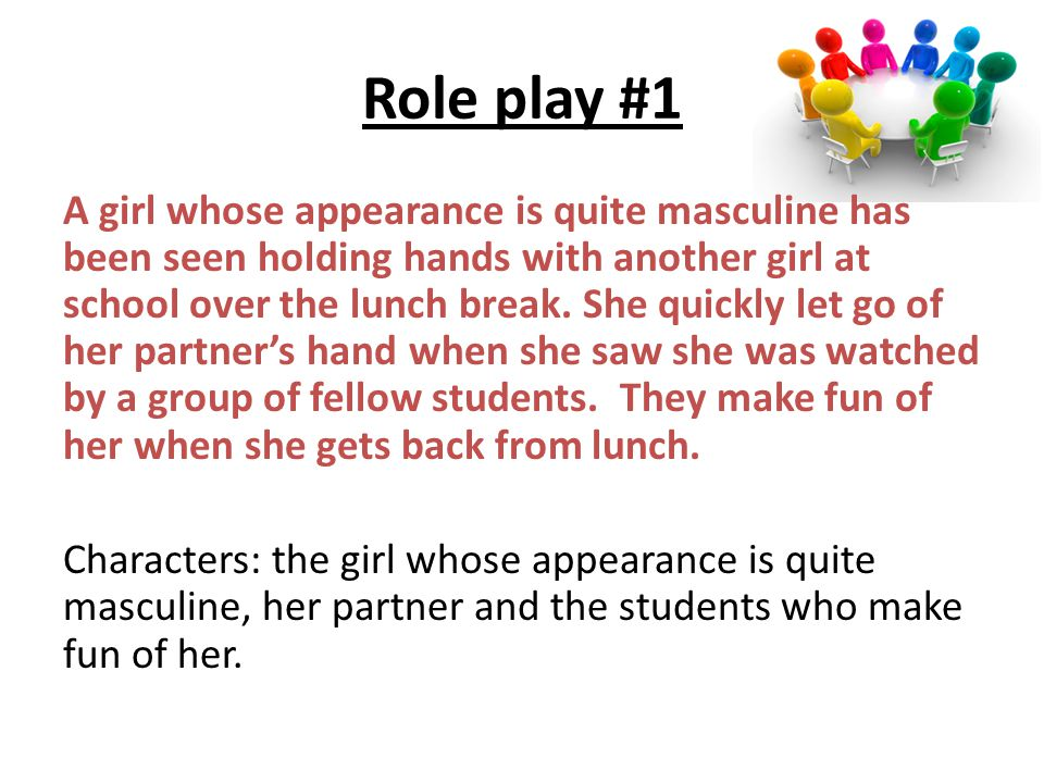 Role play #1