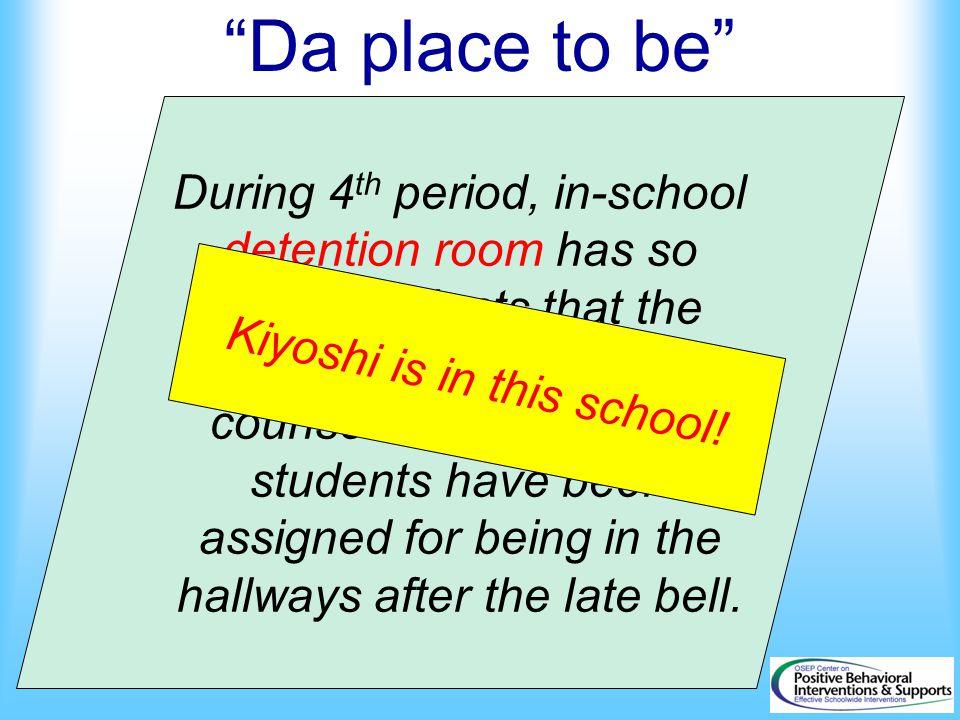 Kiyoshi is in this school!