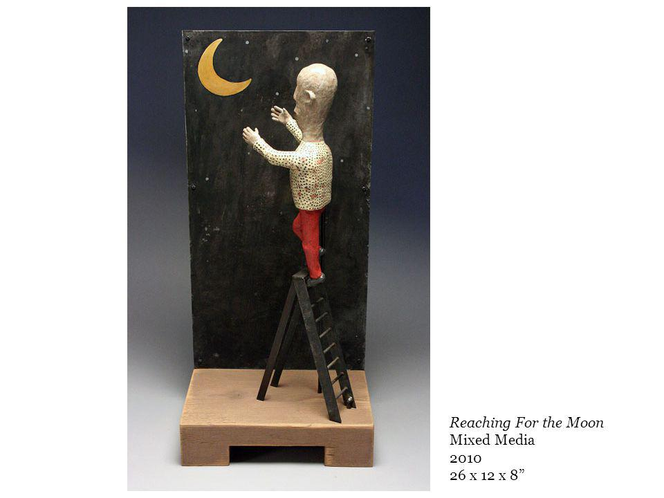 Reaching For the Moon Mixed Media 2010 26 x 12 x 8