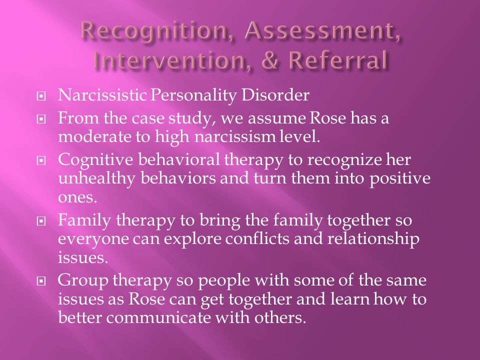 Recognition, Assessment, Intervention, & Referral