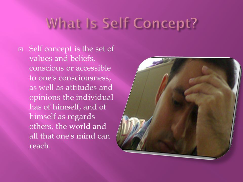 What Is Self Concept