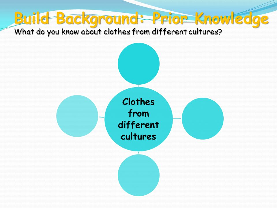 Clothes from different cultures