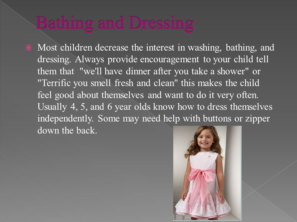Bathing and Dressing