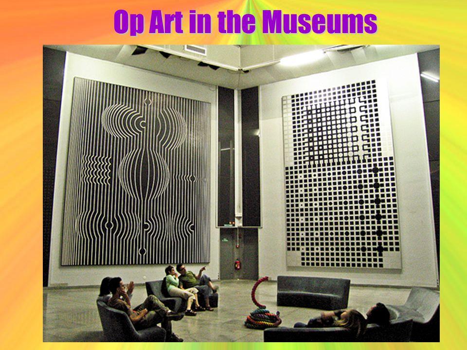 Op Art in the Museums
