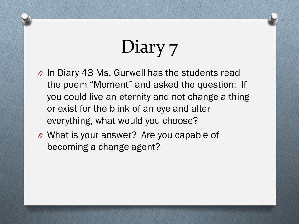 Diary 7
