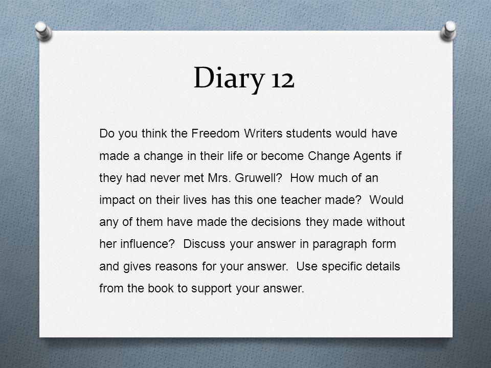 Diary 12