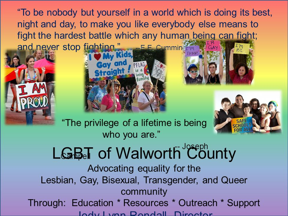 LGBT of Walworth County