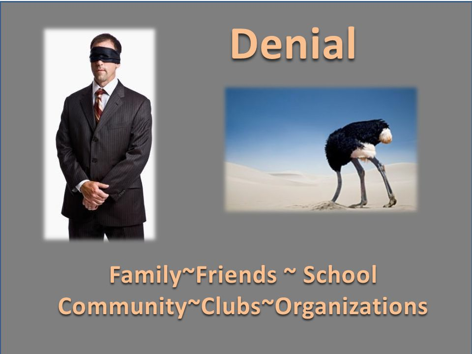 Family~Friends ~ School Community~Clubs~Organizations