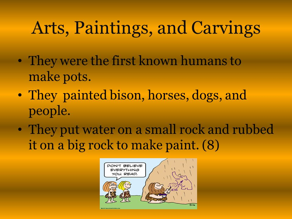 Arts, Paintings, and Carvings