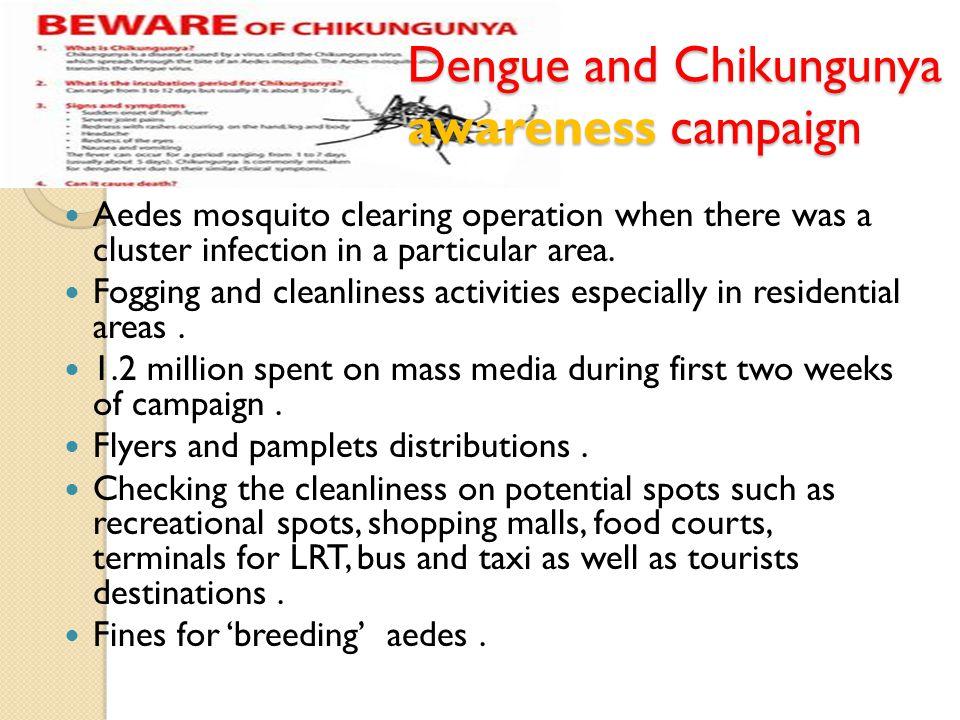 Dengue and Chikungunya awareness campaign