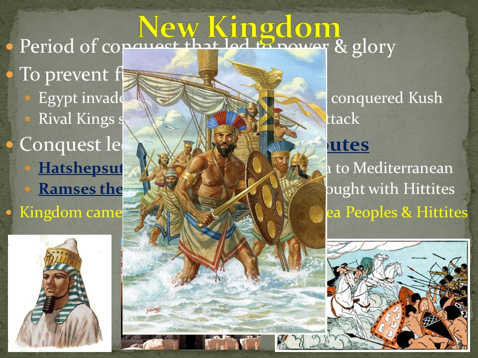 New Kingdom Period of conquest that led to power & glory