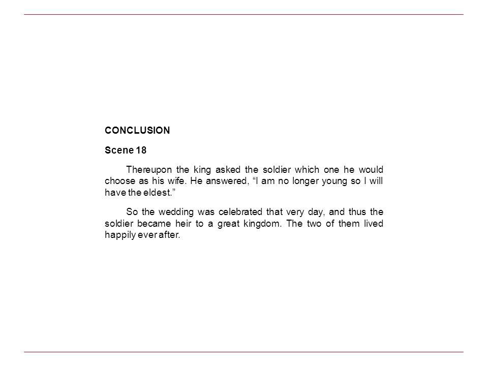 CONCLUSION Scene 18.