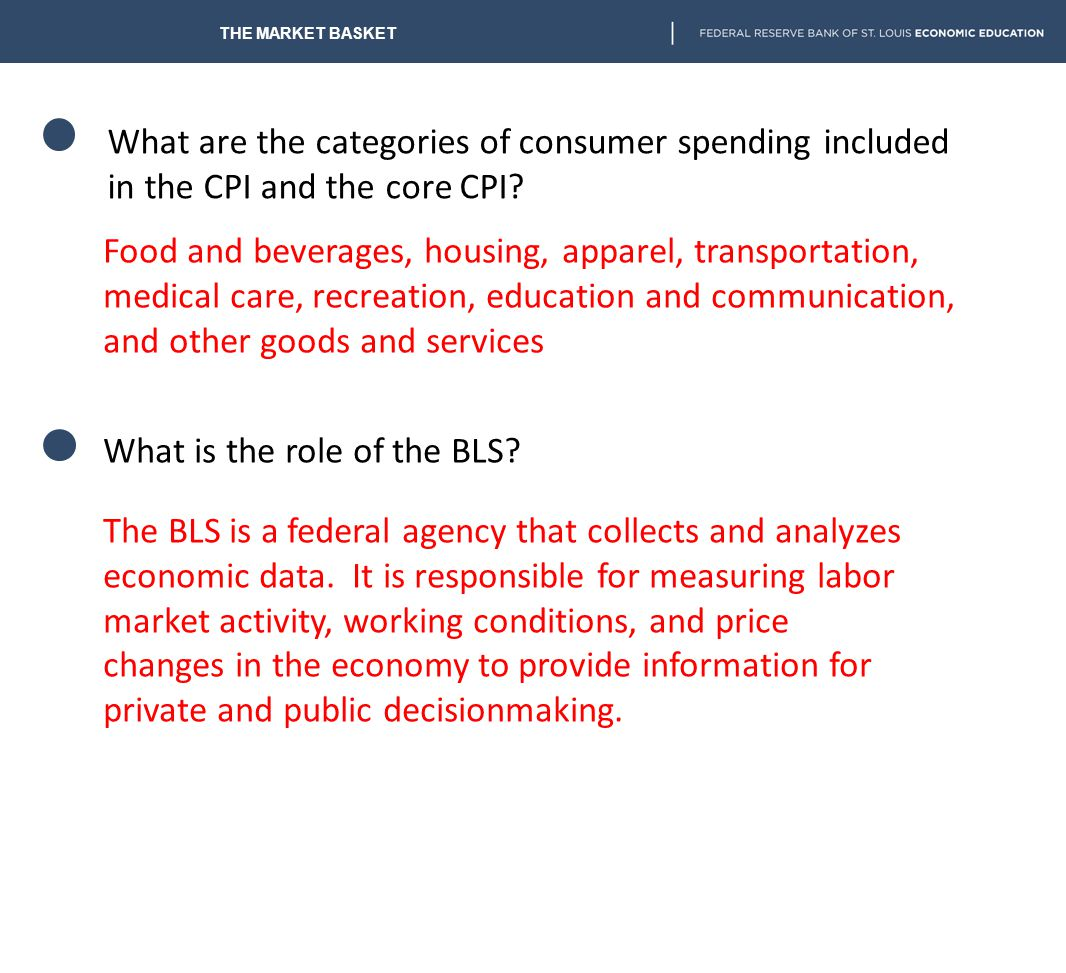 What is the role of the BLS