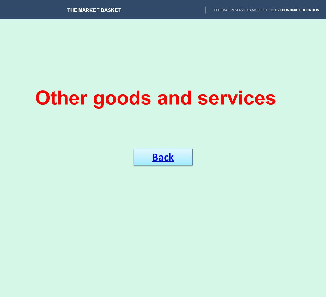 Other goods and services
