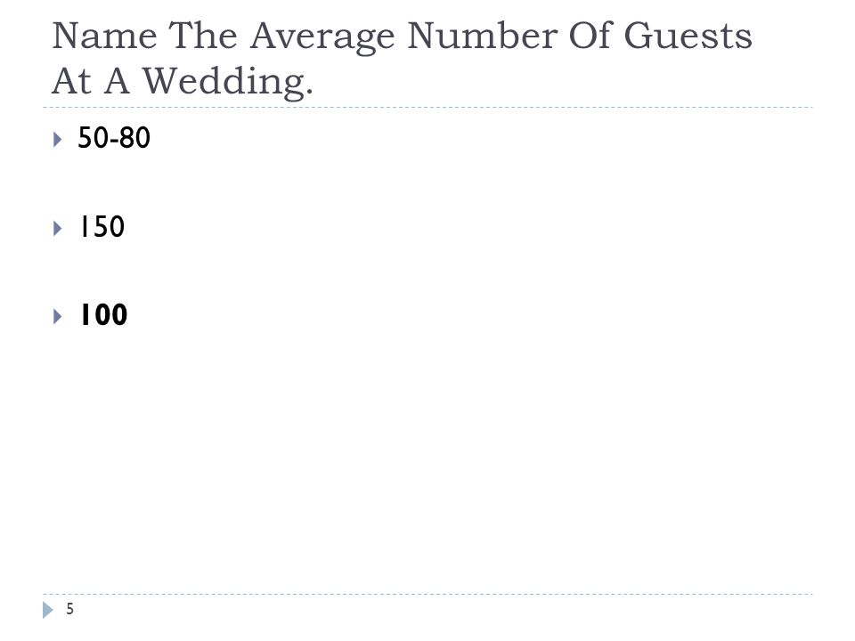What Is The Average Number Of Bridesmaids In A Wedding Party