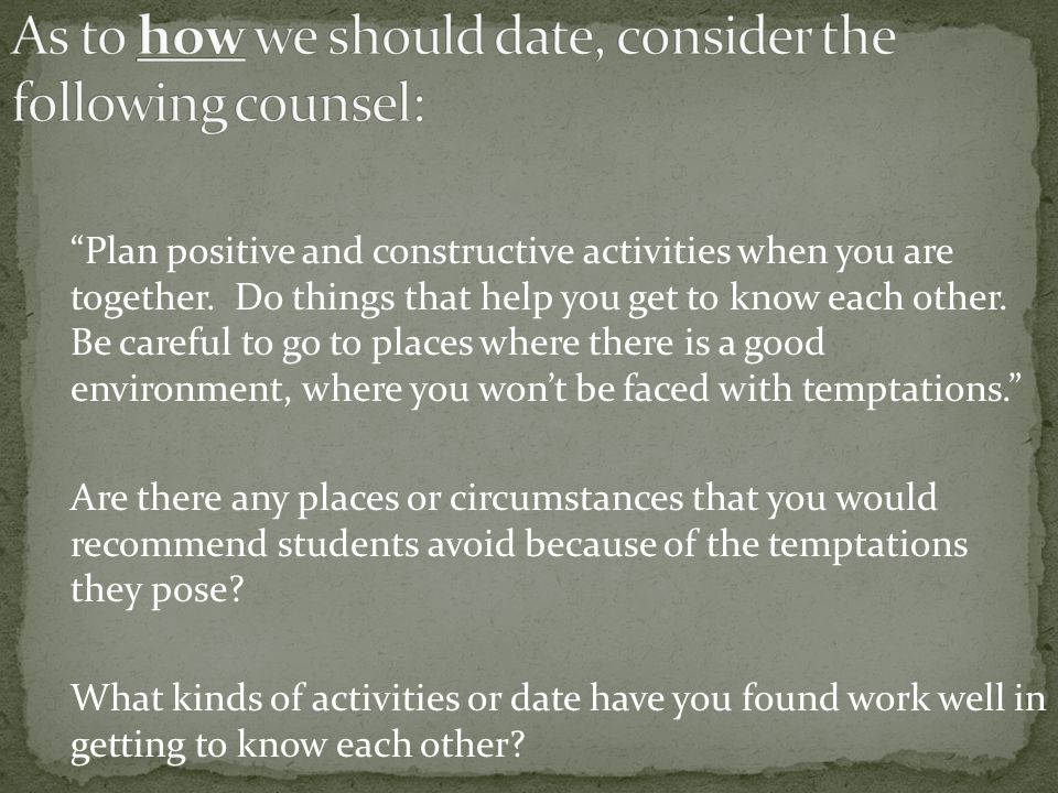 When should you consider online dating