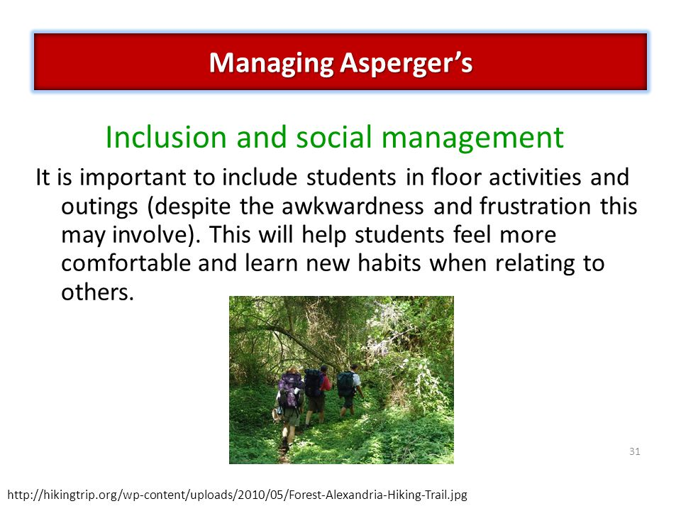 Inclusion and social management