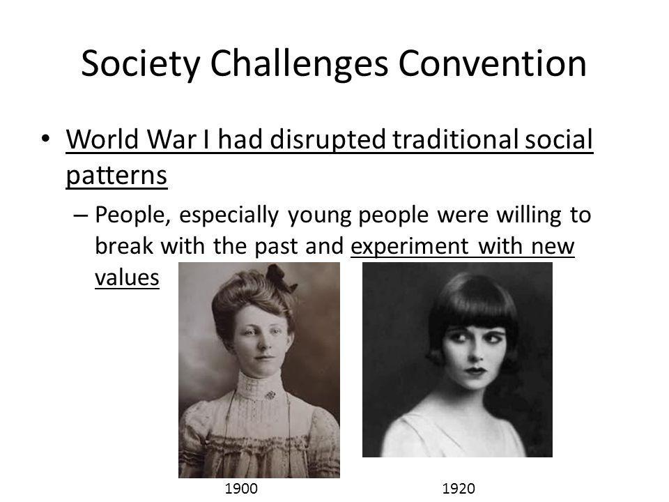 Society Challenges Convention