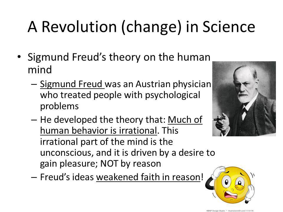 A Revolution (change) in Science